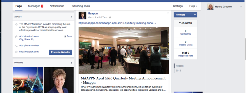 Announcing MAAPPN's New Facebook Business Page