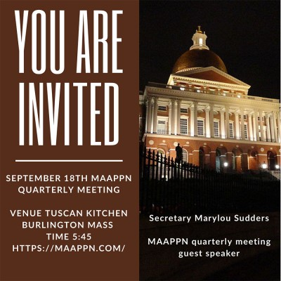 September 18th MAAPPN quarterly meeting
